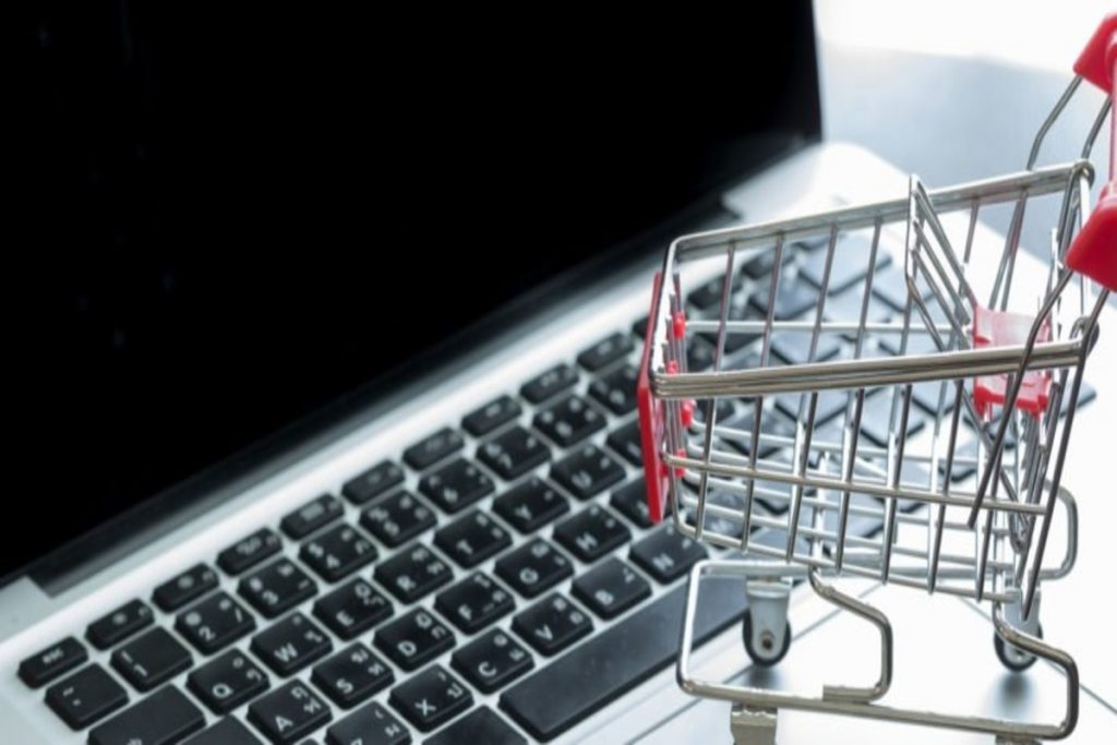 One step at a time: Building an online shop: shopping in online